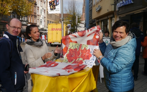 Adventskalenderverkauf in Offenburg